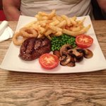6oz fillet steak - beautiful flavour