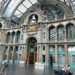 Antwerp Station facade