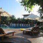 Himmaphan restaurant - BBQ night  & pool