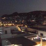 Lindos by night