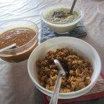 Breakfast made by Anitha Aunty