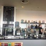 The ground floor café