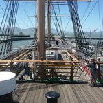 Hyde St pier ship