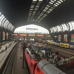 Mid day hustle in hamburg central station!