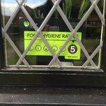 Food hygiene rating 5 stars