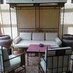 terrasse de la suite