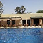 restaurant du riad et piscine