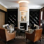 charming reception area