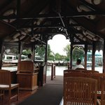 boat ride to thai restaurant
