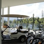 Golf carts and bikes available