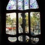 Passeig de Gracia view from Casa Batllo