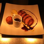 Gresingham duck on the A la carte