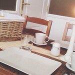Ontbijt, romantische kamer