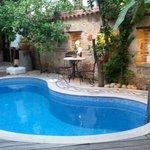 Pool Patio area