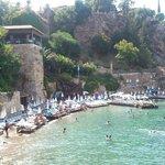 ''Kaleiçi'' Old Town Beach area