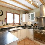 open plan kitchen, fully equipped
