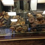 Wide variety of bagels. Ask for a warm one!