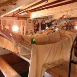 Below decks with Larry