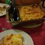 Lasagne- sehr zu empfehlen!