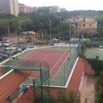 Terrain de foot, de tennis occasionnellement