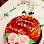 Beqo even organized a birthday cake for my wife's birthday.