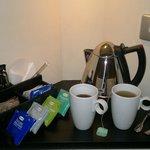 Tea niche in room