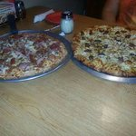 Both Pizzas Together