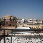 foto sui tetti della città