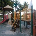 Детская площадка напротив