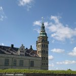 Kronborg ... not dark and mysterious but bright a sunny