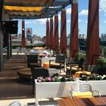 Roof top bar and lounge