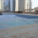 Ezdan hotel's pool