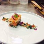 salmone marinato bellissimo e super buono!