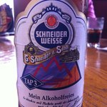 An excellent no-alcohol Bavarian wheat beer