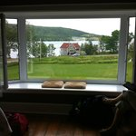 Bay room view of Bras D'Or lake