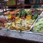 Nahrungsauswahl im Speisesaal