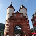 Alte Brücke di Heidelberg.