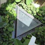 Fontaine patio intérieur