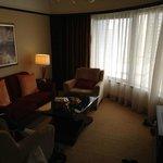 Wohnzimmer der Premier Selection Suite
