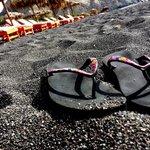 Черный песочек