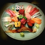 Sushi and Sashimi assortment