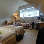 Lovely bedroom, incredible views over London!