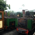 Two of the working Steam Locomotives