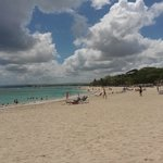 Beach to rear of the Grand Marien, Puerto Plata