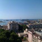 Palma Bay from the balcony