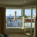 The balcony of our ocean View room