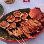 Seafood for 320'000 IDR - very nice