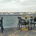 View of the sea , best place to have a coffee or a meal