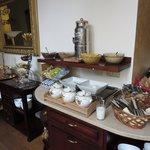 朝食コーナー(続き)