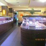 Zona del Desayuno Buffet Libre